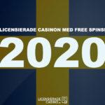 casinon med free spins 2020